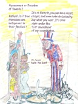 Well said Uncle Sam... but that don't cover cartoonist, right ? KathyH